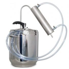 Destilační přístroj 5L - 24L Destilátor, Palírna, Lihovarník, Vinopalník kompletní s nejlepším chlazením