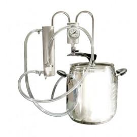 Destilační přístroj 5L - 24L Destilátor, Palírna, Lihovarník, Vinopalník, chlazení, odkalovač