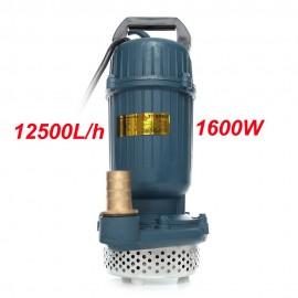 Vodní čerpadlo ponorné, čistá/špinavá voda, žumpa 1600W
