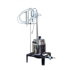Destilační chlazení 160cm: STUDENÉ PRSTY - REFLUX VNITŘNÍ