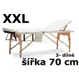 Masážní Lehátko 3- dílné XXL - 70cm