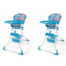 Dětská jídelní židlička MINI sea