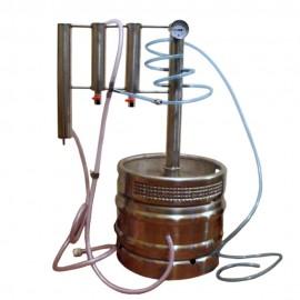 Destilační přístroj Destilátor, Palírna, Lihovarník, Vinopalník  30 - 50 L