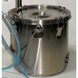 Tlakový hrnec z nerezu 24L - 36L