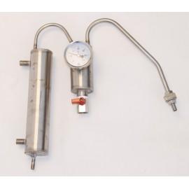 Chladič 1 x odkalovač