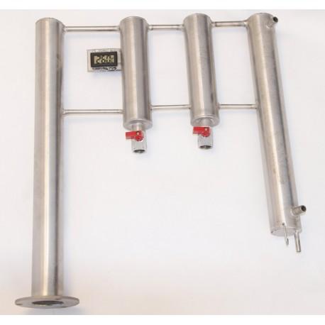 Chlazení  dvojitý odkalovač - SUD